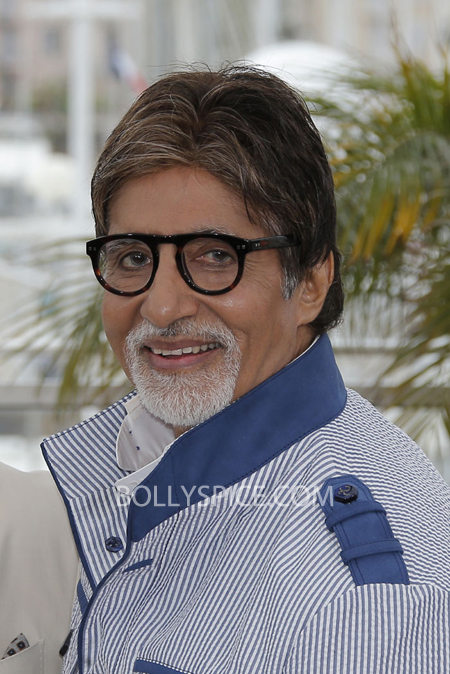 13may cannes 03 Cannes 2013: Amitabh Bachchan joins his director and co stars for The Great Gatsby photocall