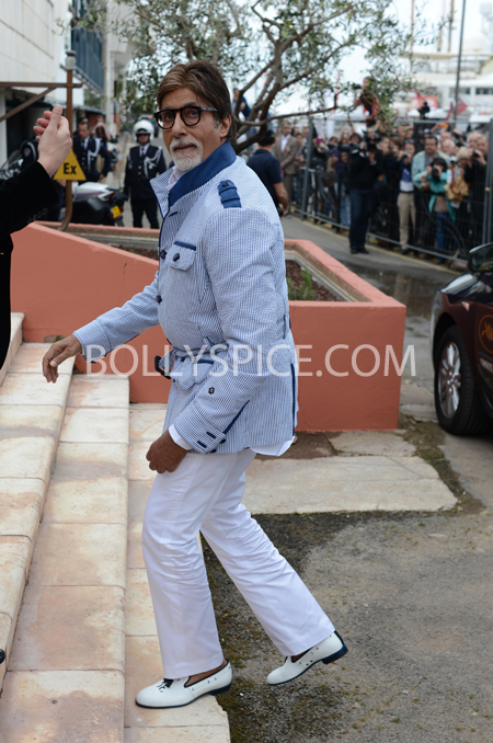 13may cannes 05 Cannes 2013: Amitabh Bachchan joins his director and co stars for The Great Gatsby photocall