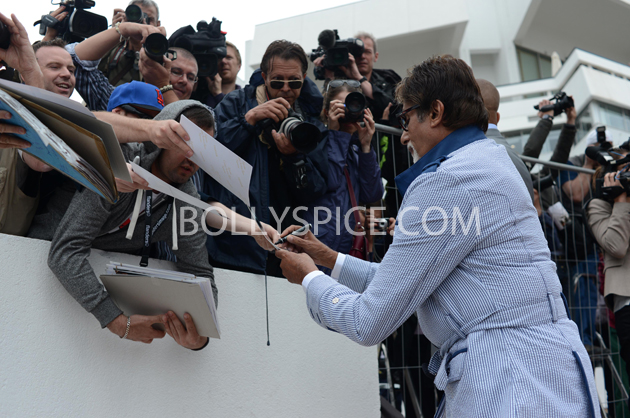 13may cannes 06 Cannes 2013: Amitabh Bachchan joins his director and co stars for The Great Gatsby photocall