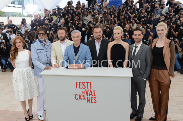 13may cannes 07 Cannes 2013: Amitabh Bachchan joins his director and co stars for The Great Gatsby photocall