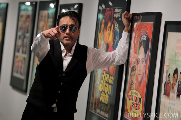 13may jackieshroff 01 Bollywood superstar Jackie Shroff celebrates Indian cinema's 100th birthday in Bradford