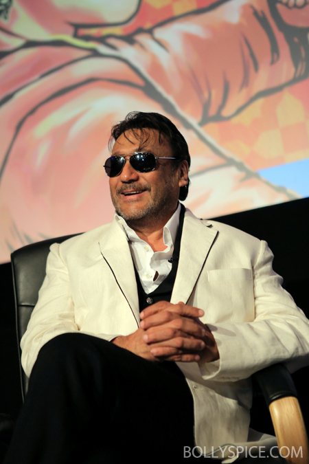 13may jackieshroff 02 Bollywood superstar Jackie Shroff celebrates Indian cinema's 100th birthday in Bradford