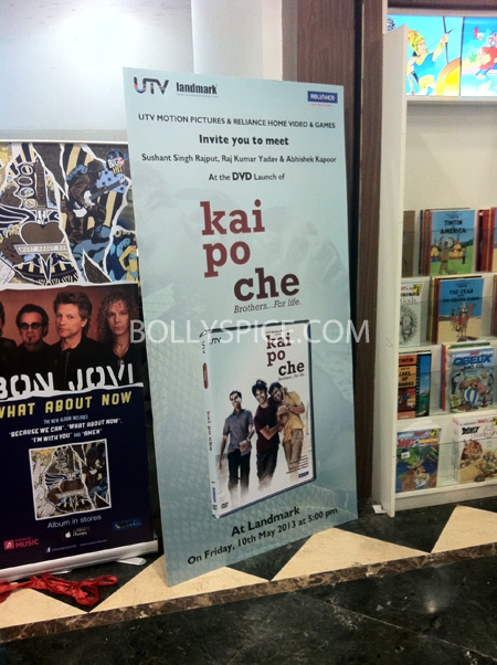 13may kaipochedvd 06 IN PICTURES: Kai Po Che DVD launch