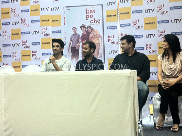 13may kaipochedvd 07 IN PICTURES: Kai Po Che DVD launch