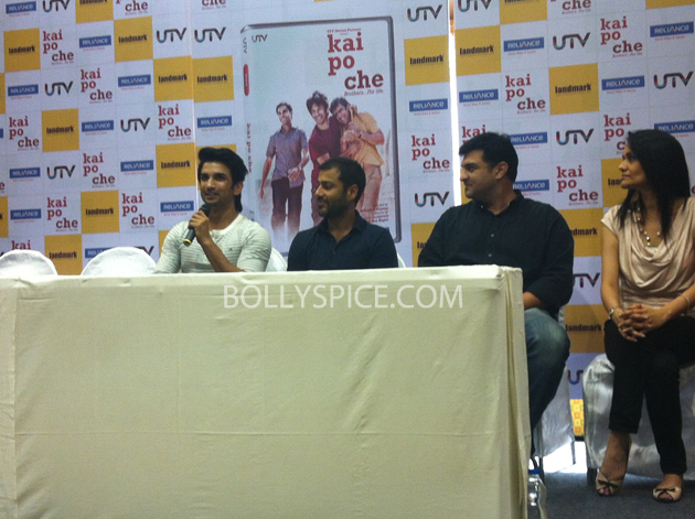 13may kaipochedvd 08 IN PICTURES: Kai Po Che DVD launch