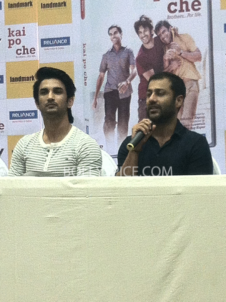13may kaipochedvd 09 IN PICTURES: Kai Po Che DVD launch