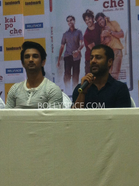 13may kaipochedvd 10 IN PICTURES: Kai Po Che DVD launch