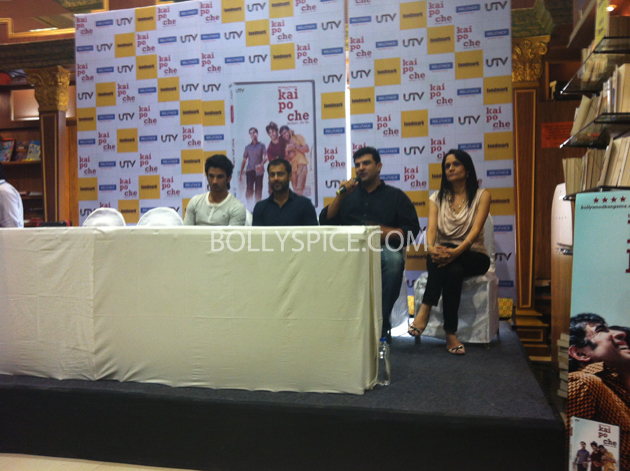 13may kaipochedvd 14 IN PICTURES: Kai Po Che DVD launch