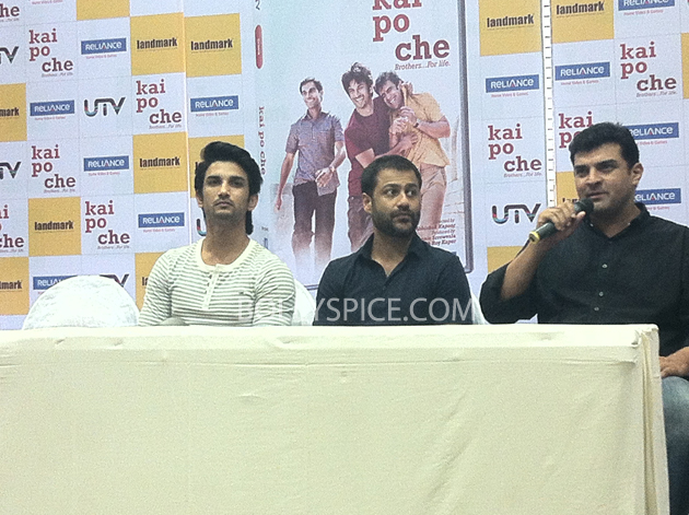 13may kaipochedvd 15 IN PICTURES: Kai Po Che DVD launch