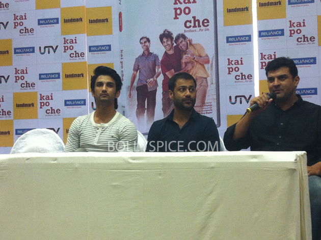 13may kaipochedvd 16 IN PICTURES: Kai Po Che DVD launch