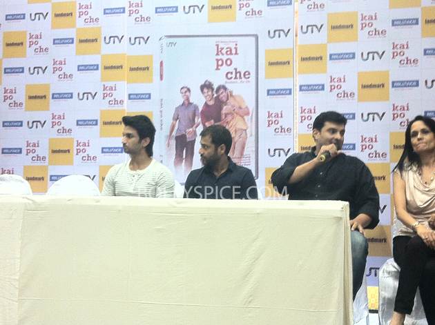 13may kaipochedvd 17 IN PICTURES: Kai Po Che DVD launch