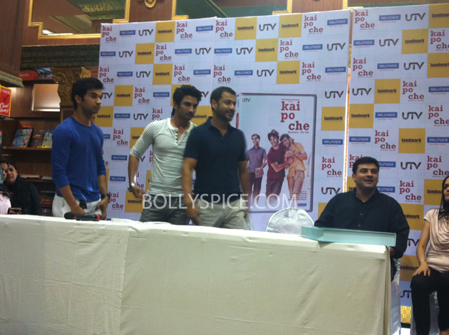 13may kaipochedvd 19 IN PICTURES: Kai Po Che DVD launch