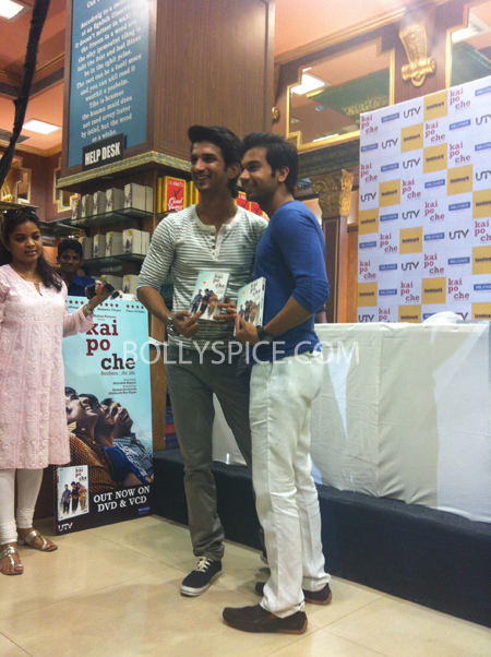13may kaipochedvd 34 IN PICTURES: Kai Po Che DVD launch