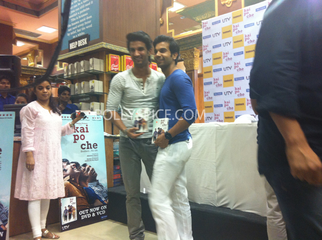 13may kaipochedvd 36 IN PICTURES: Kai Po Che DVD launch