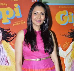 "13may sonamnair 02  ""The message of Gippi is you should love yourself for who you are""   Director Sonam Nair"