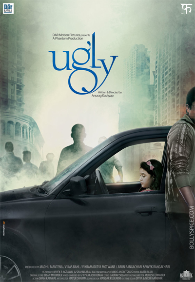 13may uglyposter First Look Poster of Ugly   Anurag Kashyap's official entry to Cannes