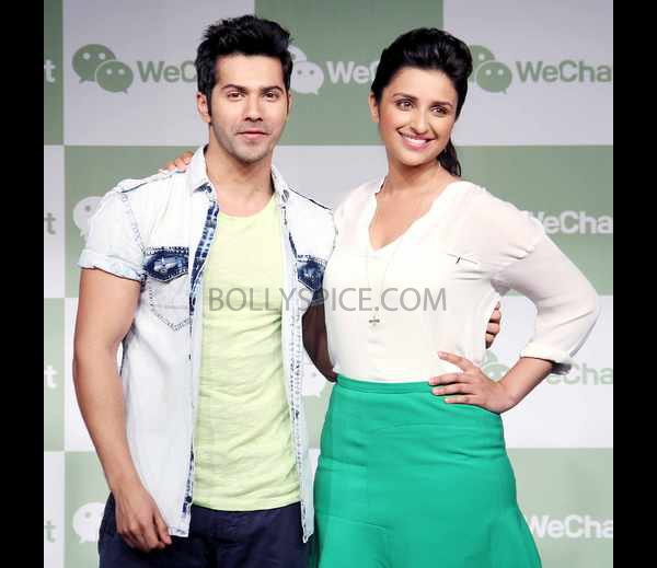 13may wechat 01 WeLove. WeChat. with Parineeti Chopra and Varun Dhawan
