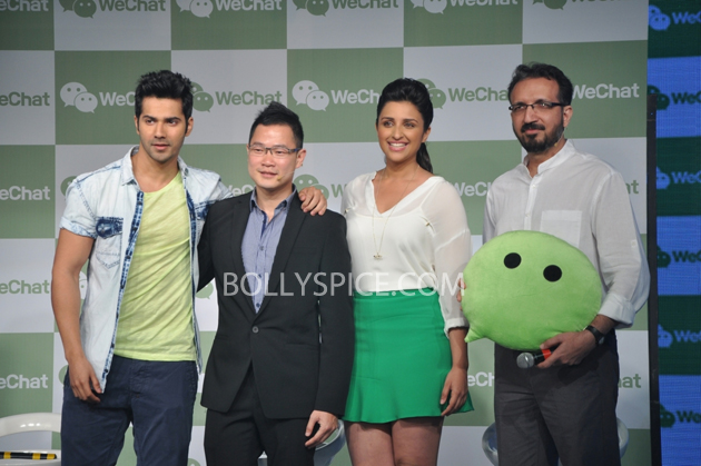 13may wechat 02 WeLove. WeChat. with Parineeti Chopra and Varun Dhawan