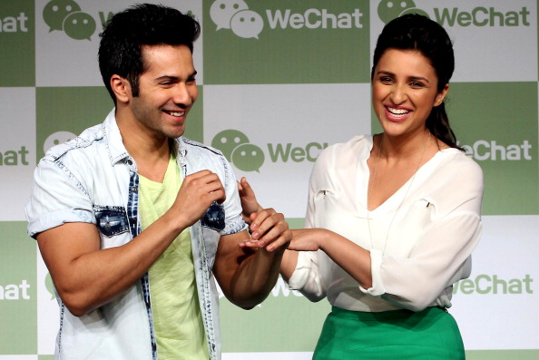 13may wechat 05 WeLove. WeChat. with Parineeti Chopra and Varun Dhawan