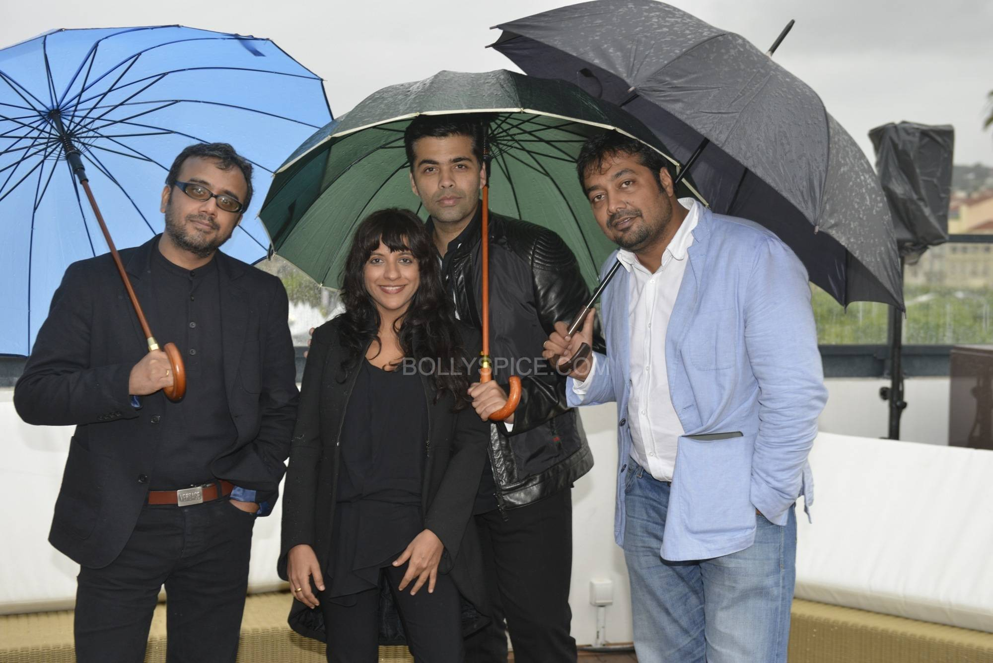 1612 Cannes 2013 Photo Nick Wall 2 Candid Photos of Karan, Zoya, Dibakar and Anurag in Cannes!