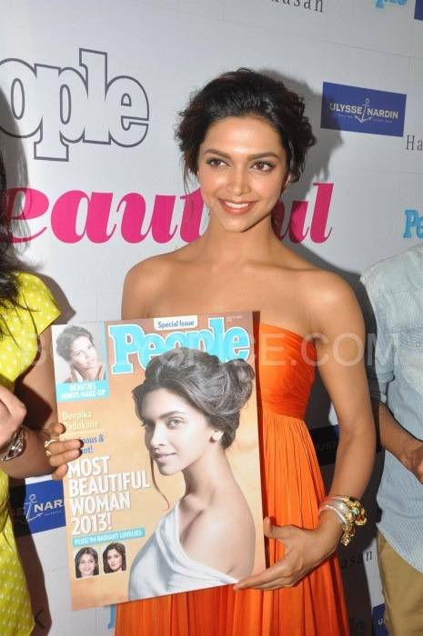"Deepika Padukone People3 Deepika Padukone named India's ""Most Beautiful Woman"" 2013 by People magazine"