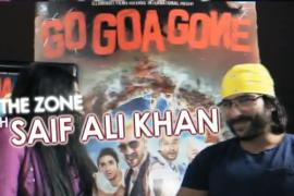 Saif Ali Khan in the zone