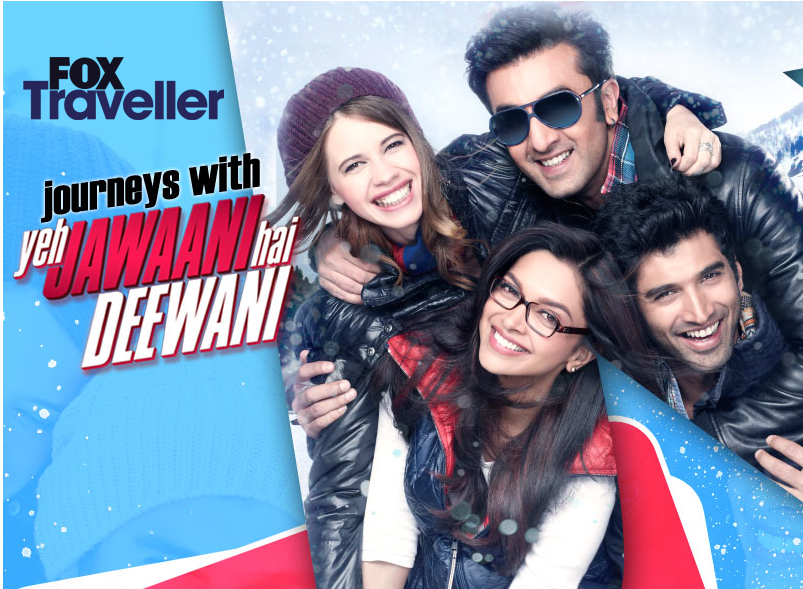 YJHDfoxtraveller Ranbir aka Bunny from YJHD calls for travel stories