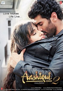 aashiqui2poster 209x300 Subhash K Jha: Aashiqui 2 is a film with its heart in the right place.