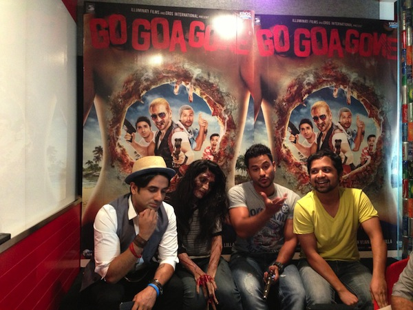 ggggooglehangout Vir, Kunal and Anand in trippy tune 'Babaji Ki Booti'    Go Goa Gone