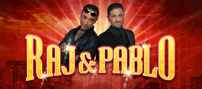 rajandpablo2 Get ready for Raj&Pablo at The Century Club Bollywood style!