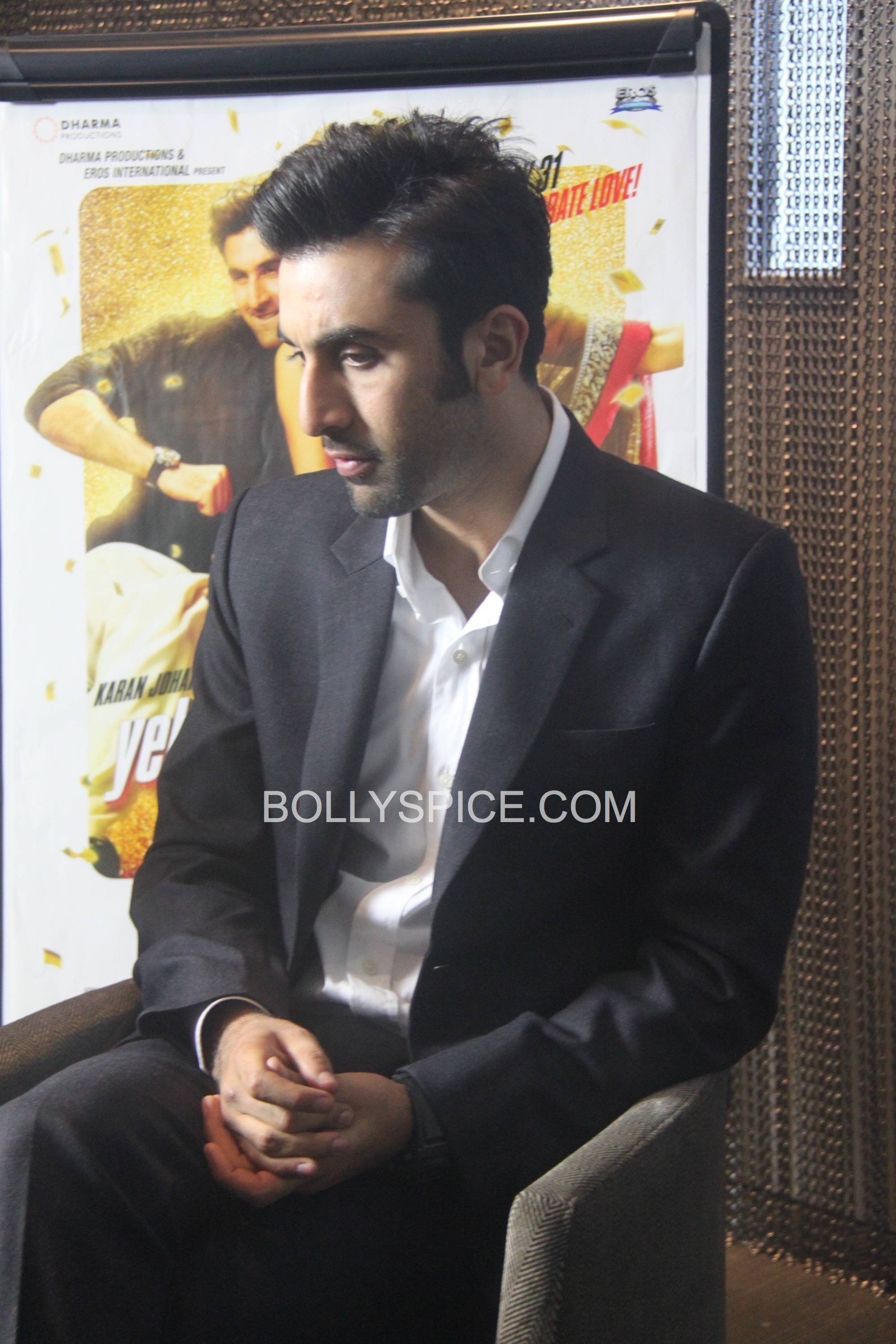 ranbirukjyhd02 Ranbir Kapoor in London to promote Yeh Jawaani Hai Deewani Preview!