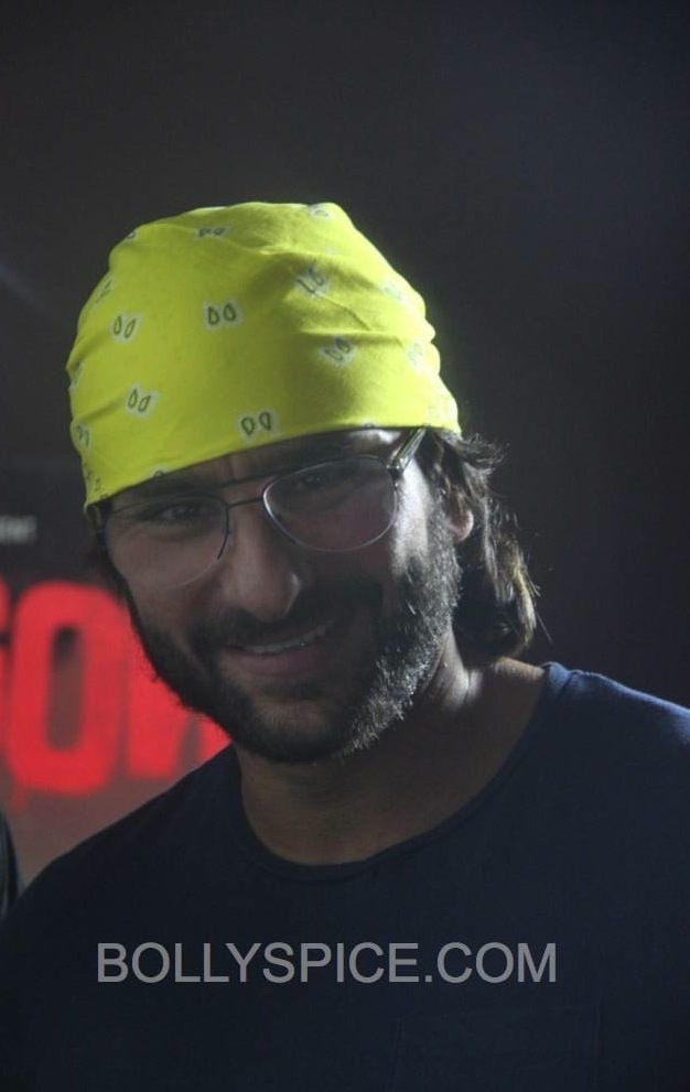 saiflondon01 Saif Ali Khan in London to promote Go Goa Gone