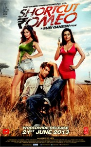 shortcutromeo 187x300 Reinventing Ameesha as the anti hero in 'Shortcut Romeo'  Exclusive video!