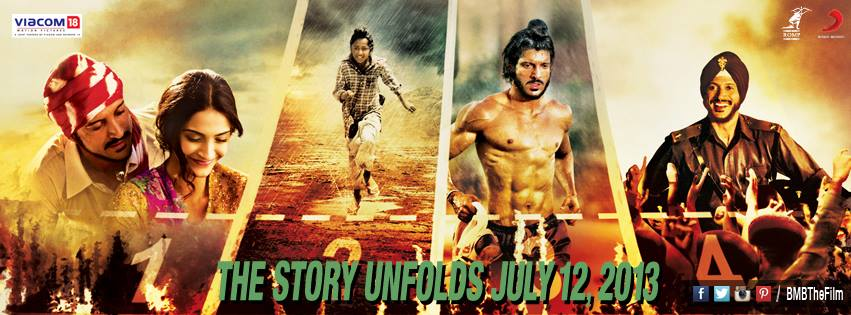 13jun BMB Poster03 Olympic Hero and Indian Idol, Milkha Singhs incredible life story gets Silver Screen debut in Bhaag Milkha Bhaag
