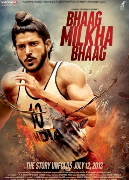13jun BhaagMilkhaBhaag MusicReview Olympic Hero and Indian Idol, Milkha Singhs incredible life story gets Silver Screen debut in Bhaag Milkha Bhaag