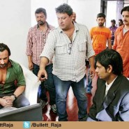 13jun BulletRaja OnSet02 185x185 In Pictures: On Set of Bullett Raja