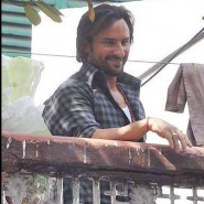 13jun BulletRaja OnSet08 185x185 In Pictures: On Set of Bullett Raja