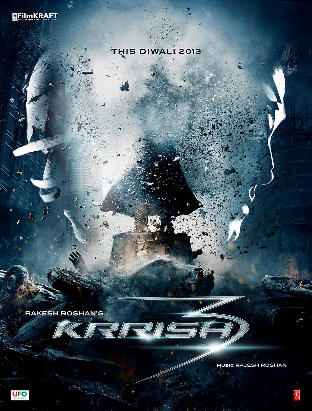 13jun Krrish3Poster01 First Look! Krrish 3 Motion Poster