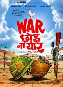 13jun WCNY Poster01 218x300 India's first war comedy to release on August 30th
