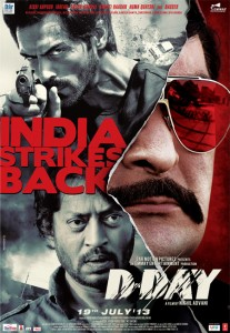 13jun ddayposter eng 207x300 Action and romance for audience with D Day and Ramaiya Vastavaiya
