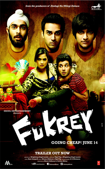"13jun fukreydirector 01 Richa Chadda: ""Fukrey is a comedy with a great heart!"""