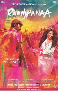 13jun raanjhanaamusicreview 191x300 Raanjhanaa wins over audiences worldwide to gross Rs. 31.5 crore
