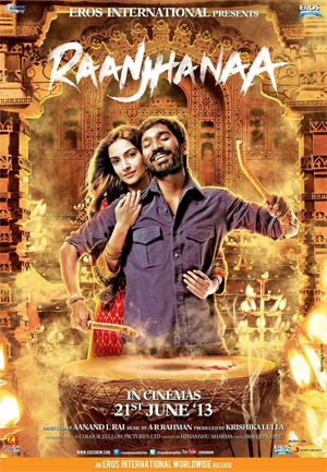 13jun raanjhanaamusicreview02  Raanjhanaa is an opulent epic seductive, raging and rippling ode to love   A Review by Subhash K Jha