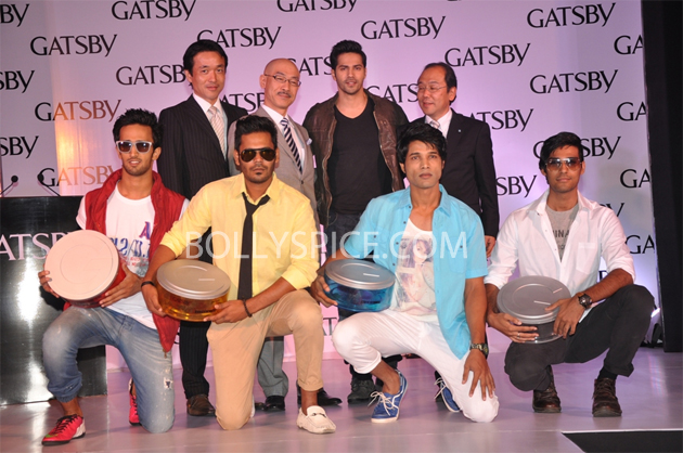 13jun varun gatsby02 GATSBY signs on Varun Dhawan as Brand Ambassador