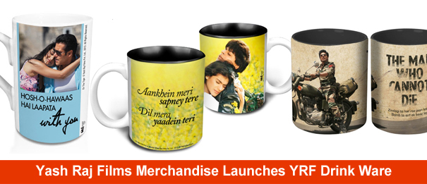 13jun yrfdrinkware Yash Raj Films Merchandise Launches YRF Drink Ware