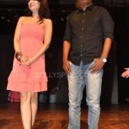 Ameesha Dir Susi Ganesh 185x185 IN PICTURES: Shortcut Romeo Cast Visits Shiamak Summer Funk 2013