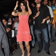 Ameesha Neil dance within the crowd 185x185 IN PICTURES: Shortcut Romeo Cast Visits Shiamak Summer Funk 2013