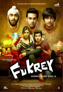 Fukrey Poster 207x300 UK Readers! WIN! CD Soundtrack of Fukrey