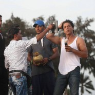 chennaiexpressset10 185x185 From the sets of Chennai Express!