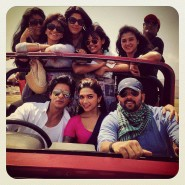 chennaiexpressset12 185x185 From the sets of Chennai Express!